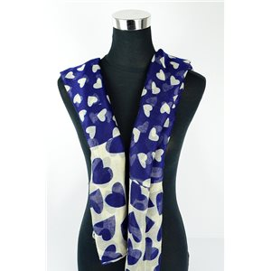 Polyester scarf 180cm-75cm New Summer Collection 77125