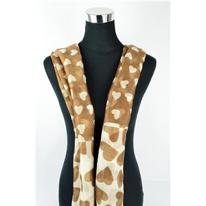 Polyester scarf 180cm-75cm New Summer Collection 77126
