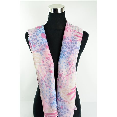 Polyester scarf 180cm-75cm New Summer Collection 77128