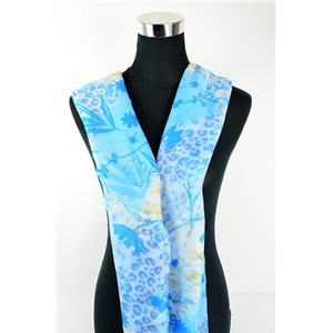 Foulard polyester 180cm-75cm New Collection 77130