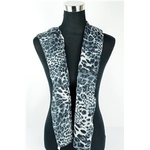 Polyester scarf 180cm-75cm New Summer Collection 77138