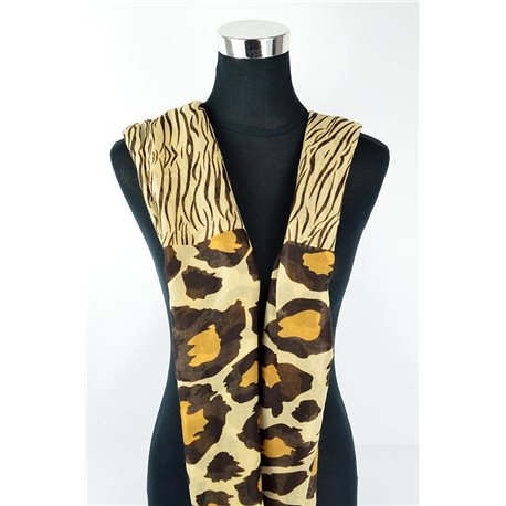 Polyester scarf 180cm-75cm New Summer Collection 77147