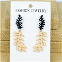 1p Earrings Nail 50mm metal color GOLD New Graphika 77365