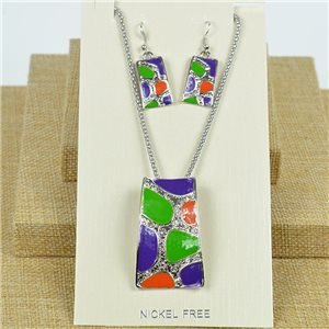 VISAGE ornament Hand painted New Collection 2020 Spring Summer 78077