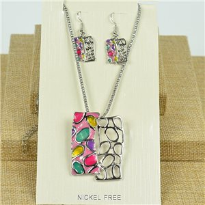 VISAGE ornament Hand painted New Collection 2020 Spring Summer 78111