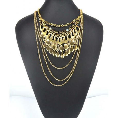 Choker Necklace Charm Collection BI Winter 2015 62582