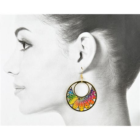 1p Filigree Golden Hook Earrings New Collection 78843