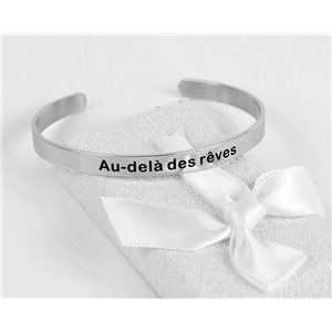 Message | Beyond Dreams | Stainless Steel Bangle 79420