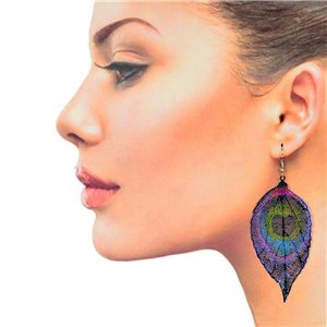 1p Filigree Hook Earrings Silver New Collection 78846