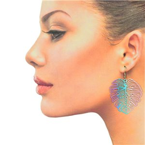 1p Filigree Hook Earrings Silver New Collection 78862