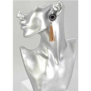 1p Boucles Oreilles Strass Collection 68066