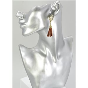 1p Boucles Oreilles Strass Collection 68070