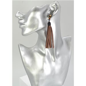 1p Earring Pendant Collection Leather 68080