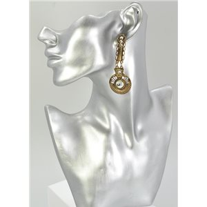 1p Boucles Oreilles Mode Vintage Collection 68042
