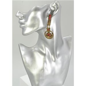 1p Boucles Oreilles Mode Vintage Collection 68043