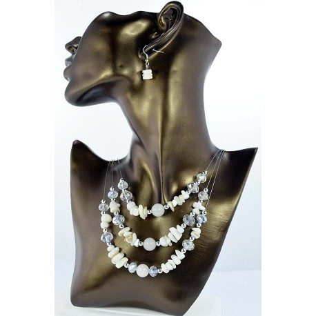 Pearl suspension Fashion adornment and beads Facets 65325