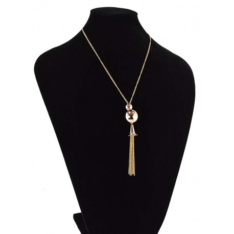 Chain Necklace gold metal Fashion Chic Fashion L57cm 65345