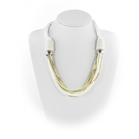 Summer Fashion Leather Necklace appearance on Channels L55cm 65609