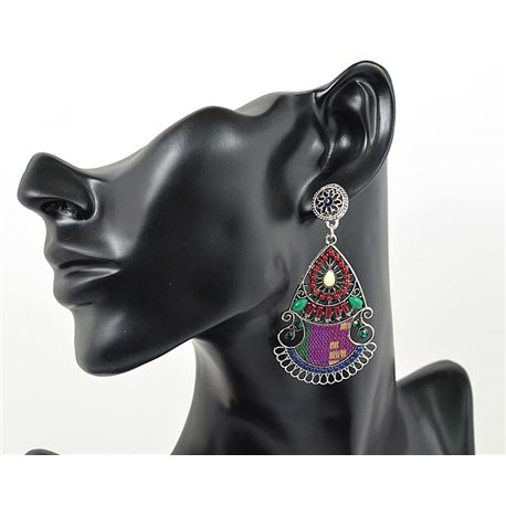 1p Earrings ATHENA TOP Ethnic Collection Summer 2016 69440