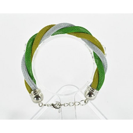 Bracelet twisted metal 61535 New Collection