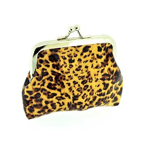 Porte monnaie PVC L10-H9cm Collection Panthere Leopard 70849
