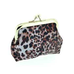 Porte monnaie PVC L10-H9cm Collection Panthere Leopard 70850