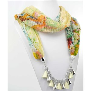 Collier Foulard Bijoux Polyester New Collection 70974