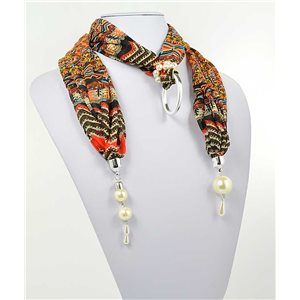 Foulard Bijoux Polyester New Collection 70997
